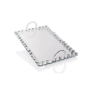 מגש זכוכית מהודר
