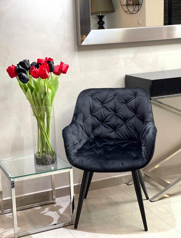 כורסאת ישיבה-שחור