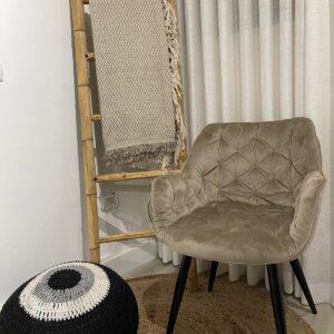 כורסאת ישיבה-שמפנייה