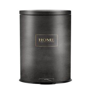 פח אשפה 30 ליטר בעיצוב בטון-אפור