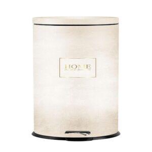 פח אשפה 30 ליטר בעיצוב בטון-שמנת