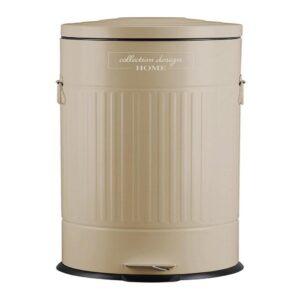 פח אשפה 30 ליטר מתכתית-ברונז׳ה
