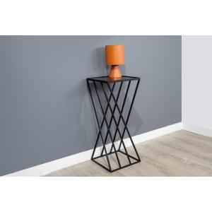שולחן צד גיאומטרי-שחור