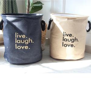 סל כביסה דגם LIVE&LAUGH&LOVE