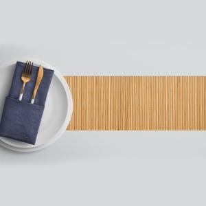 ראנר מגן חום לשולחן דגם-במבוק